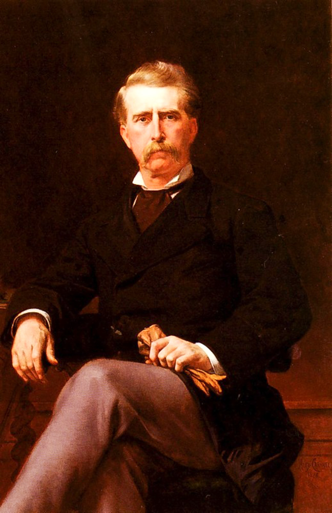 Cabanel Alexandre. Portrait De John William Mackay