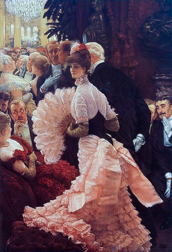 James Tissot. The reception. 1885