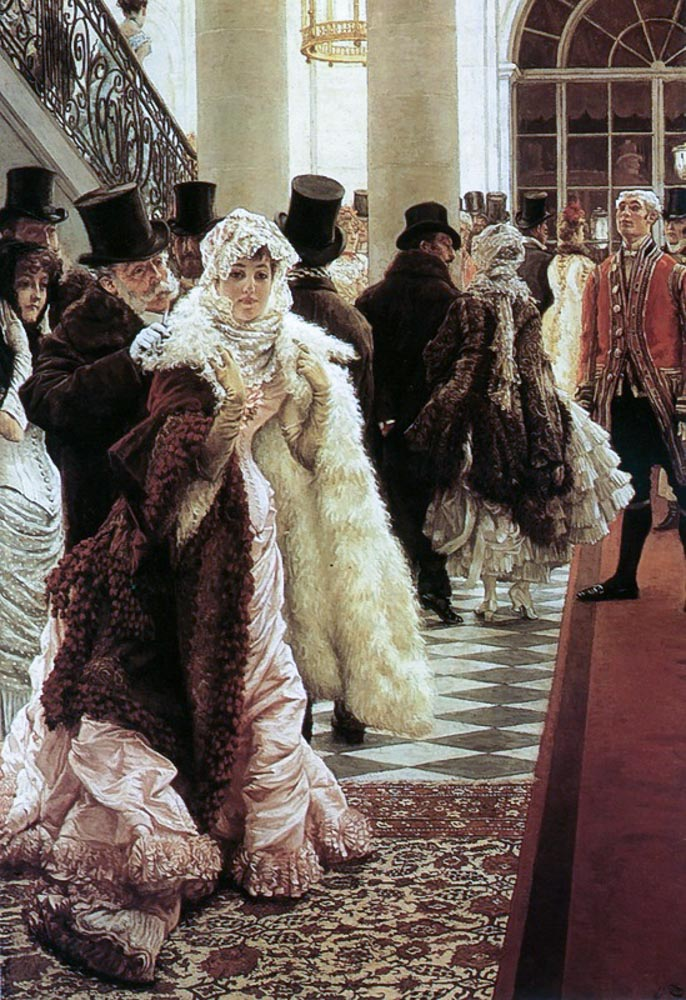 James Tissot. The Woman of Fashion. 1883-1885